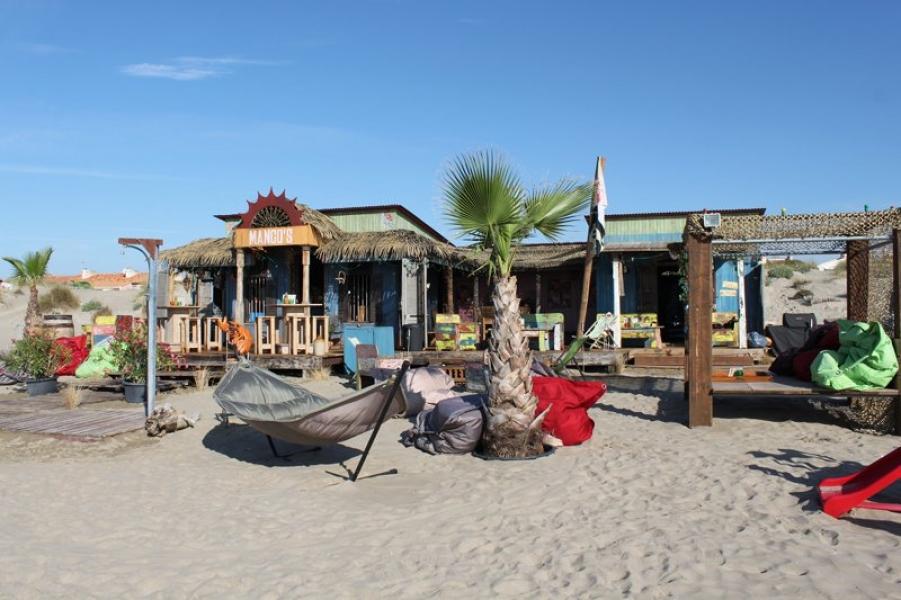 Magou2019s Beachbar Cap du2019Agde, Zuid Frankrijk